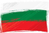 Fotografie Grunge Bulgaria flag
