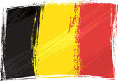 Photo Grunge Belgium flag
