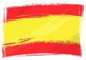 Grunge Spanyolország lobogója