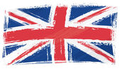 Photo Grunge United Kingdom flag
