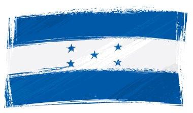 Grunge Honduras flag