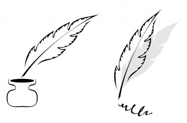 Design with feather