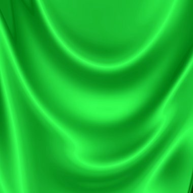 Abstract green drapery background