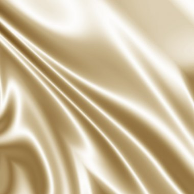 Abstract light satin drapery background