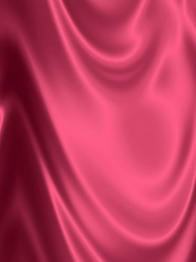 Abstract pink drapery background