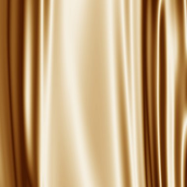 Golden satin fabric grunge