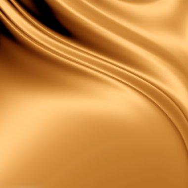 Gold fabric grunge