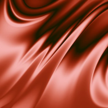 Red drapery background