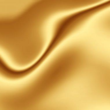 Gold silk texture
