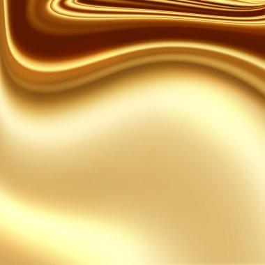 Gold fabric