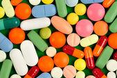 Pills on Green