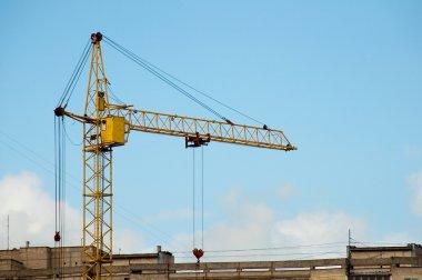 Elevating crane set two