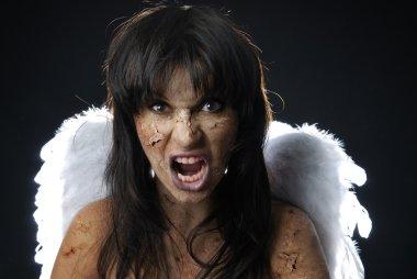 Devil angel in Halloween