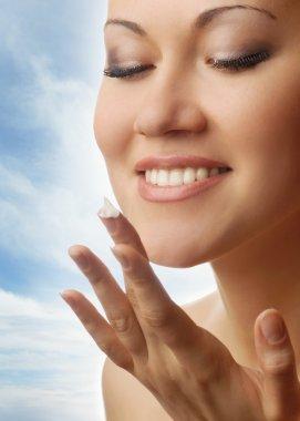 My skin is pure like a sky