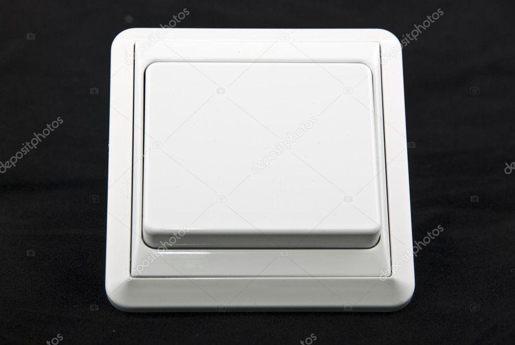 weiße Lichtschalter — Stockfoto © tarczas #1624562