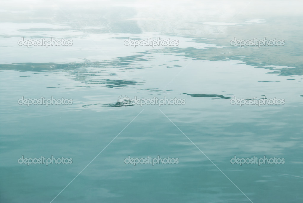Abstract water surface