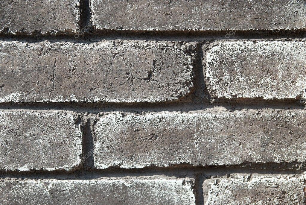 Gray grunge brick wall