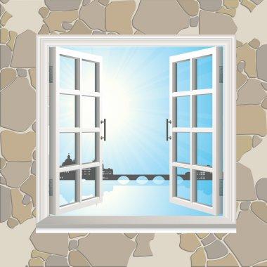 Open window set