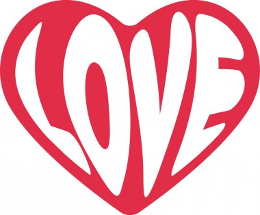 Decorative vector heart for Valentines d