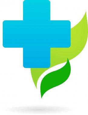 Medical icon - blue cross
