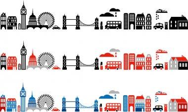 Vector illustration of London city
