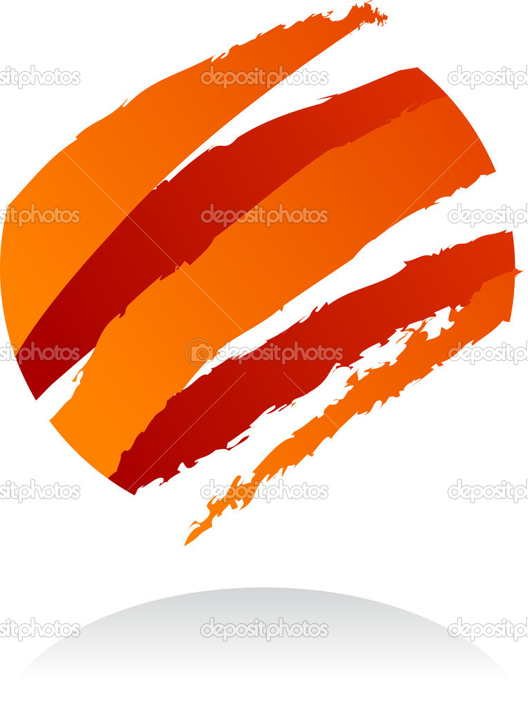 Abstract vector design element - 8