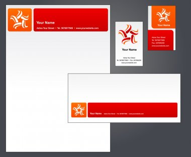 Letterhead design with logo - 3