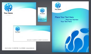 Letterhead design with logo - 2