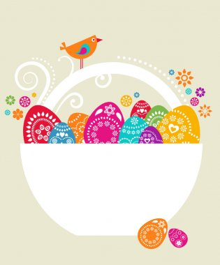 Easter card template - 9