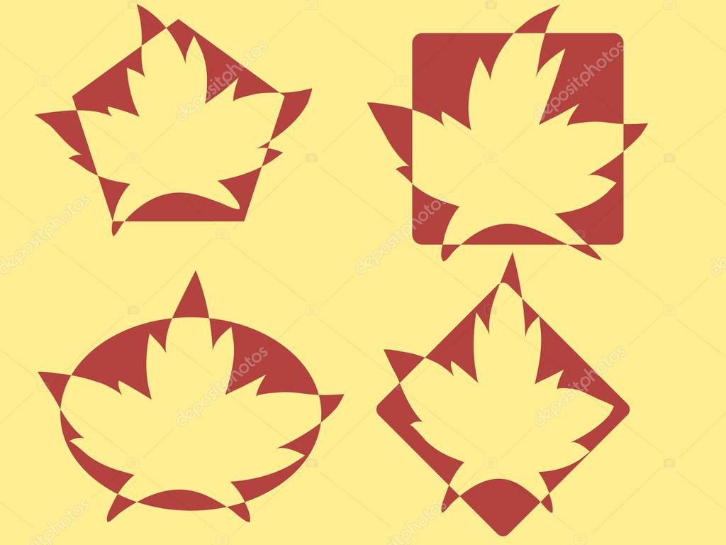 Maple leafs logos