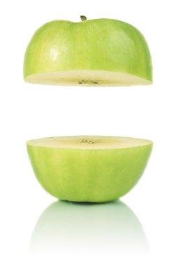 Opened apple