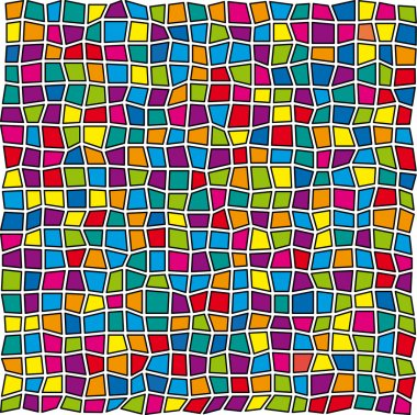 Stained-glass pattern
