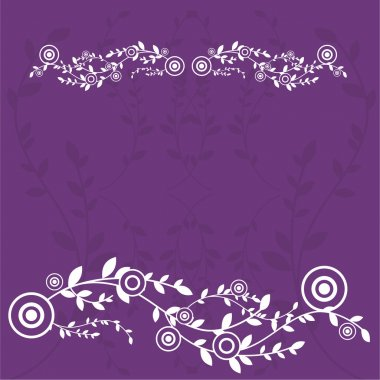 Flowers background, greetings card design
