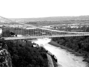 Clifton suspension bridge in bristol,uk