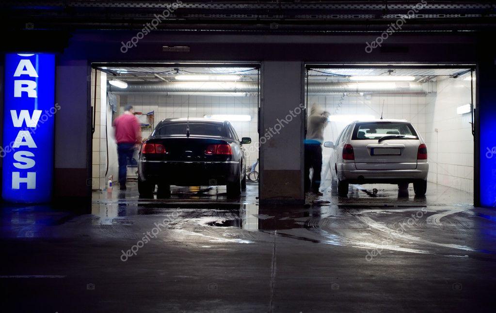 car wash in underground parking garage stock photo blasbike 2555806. Black Bedroom Furniture Sets. Home Design Ideas