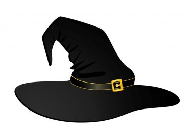 Black hat of witch