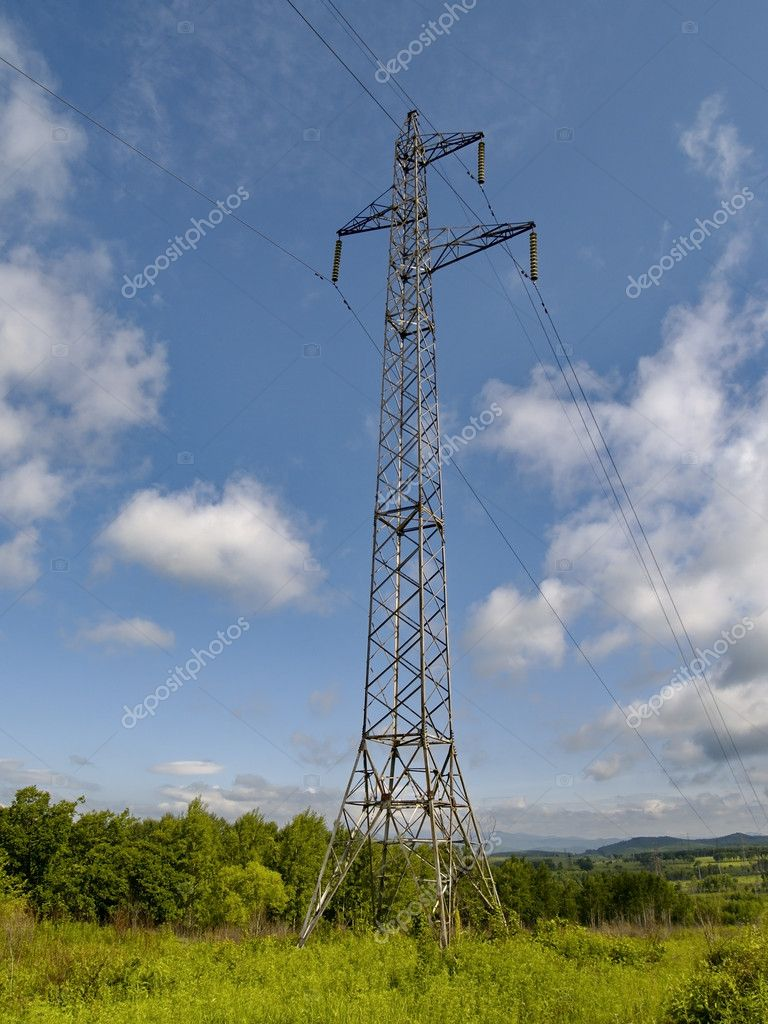The Tower of electric power line