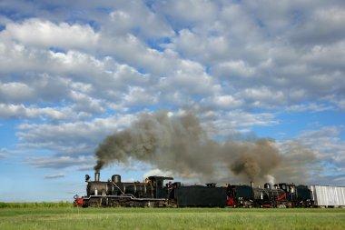 buharlı lokomotifler