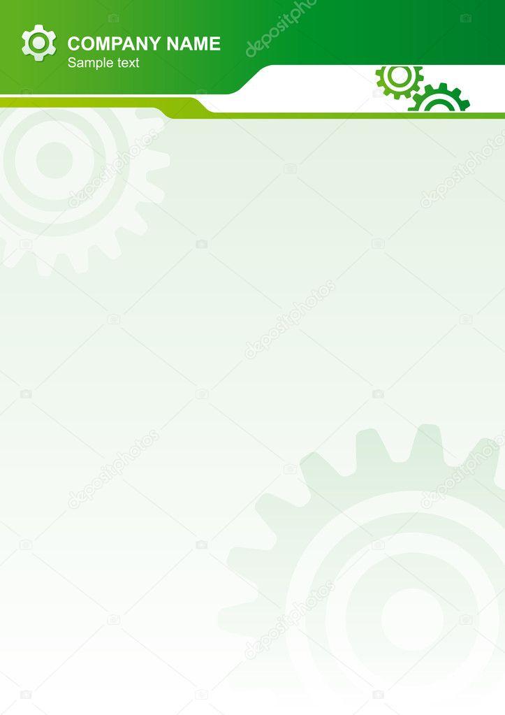 Industrial vector background
