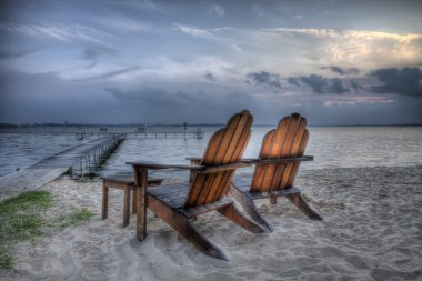 Beach Chairs, HDR