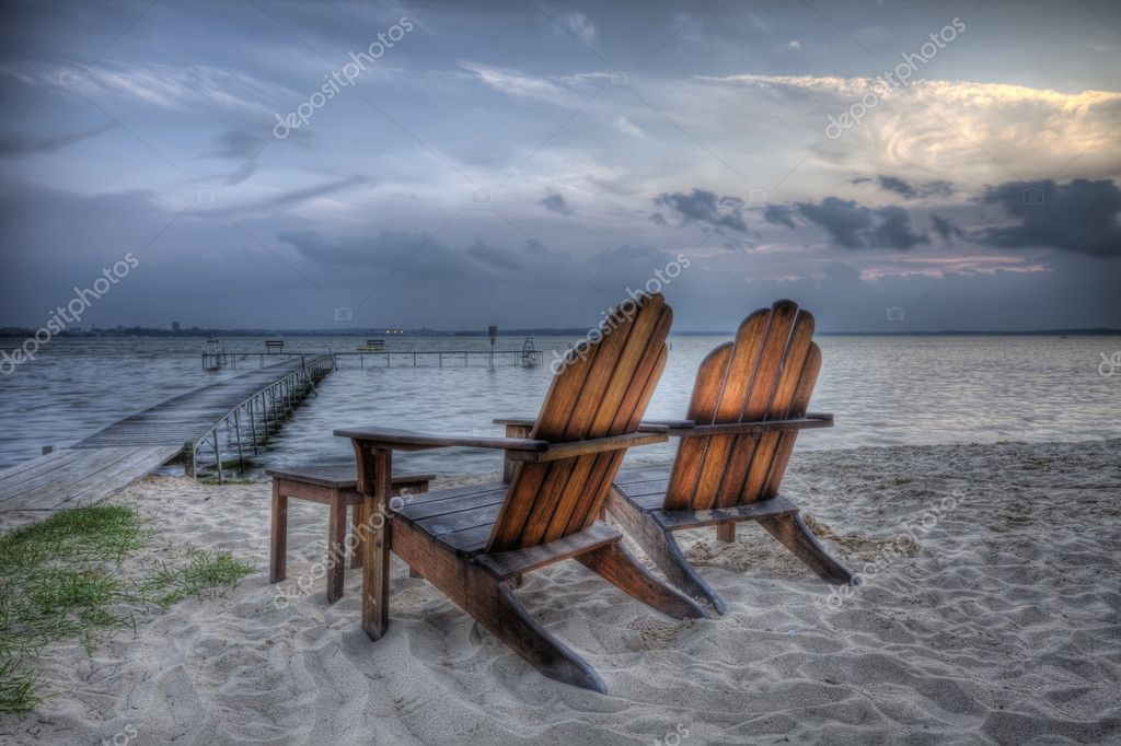 Beach Chairs, HDR
