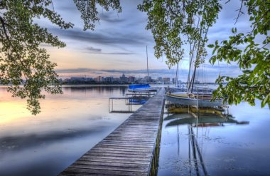Sailboats, HDR