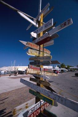 Direction sign, Key West