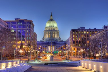 Madison, Wisconsin Skyline, HDR