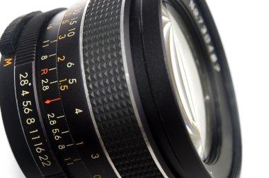 Photography lens close up