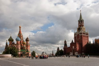 The red area in moscow