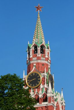 Moscow. spasskaya tower