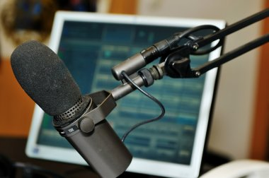 Radio station interior