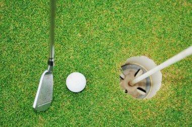 Golf ball game