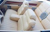 alter Cabriolet-Innenraum